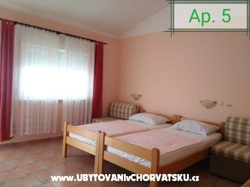 Apartmány Budiša - Maslenica Chorvátsko