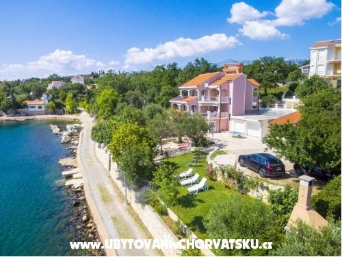 Apartm�ny Villa Maslina - Maslenica Chorv�tsko