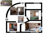 Appartements SUNI - Medulin Croatie
