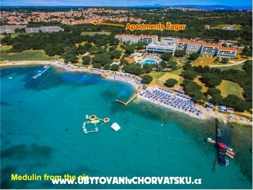 Villa Žagar - Medulin Croatie