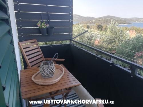 Apartmanok Lidija - Murter Horvátország