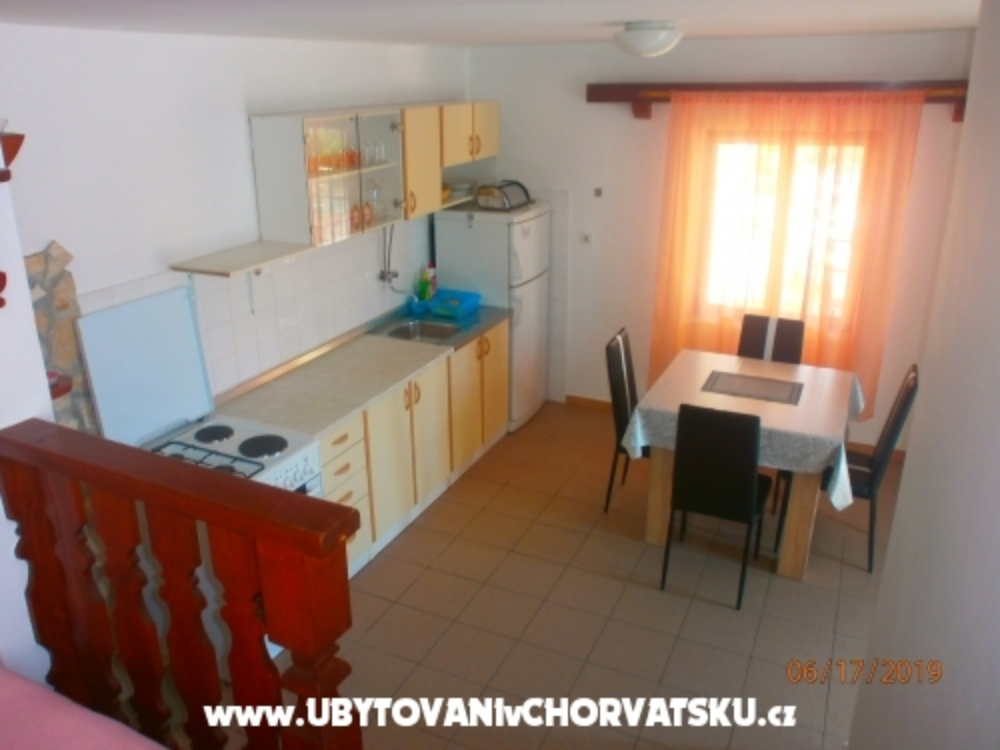 Apartmány Milka - Murter Chorvátsko