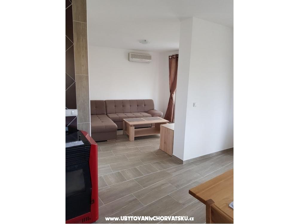 Apartm�n Vrsi i Novalja - Nin Chorvatsko