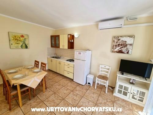 Apartmanok Ostrea - Novalja – Pag Horvátország