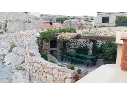 Apartmanok Tina Dražica - Novalja – Pag Horvátország