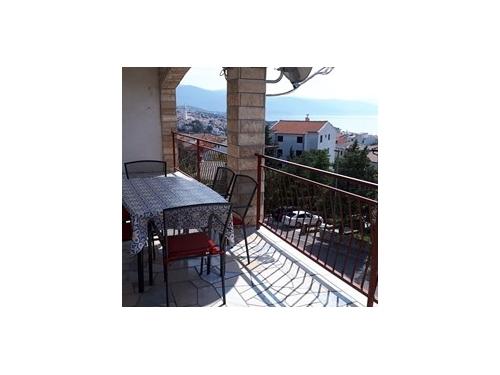 Apartmanok Novi Vinodolski - Novi Vinodolski Horvátország