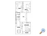 Apartment Maria - Omiš Kroatien