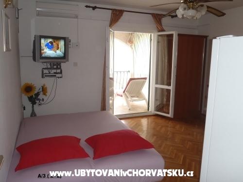 Apartmány  MARICA - Omiš Chorvátsko