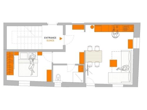 Apartmány Dalamacija - Omiš Chorvátsko