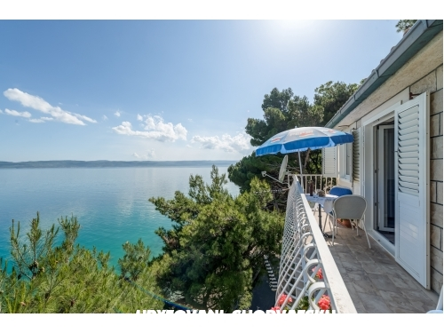 Appartements Darka am Strand - Omiš Kroatien