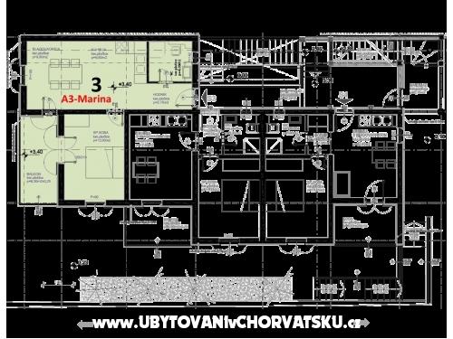 Apartmanok Marina - Omiš Horvátország