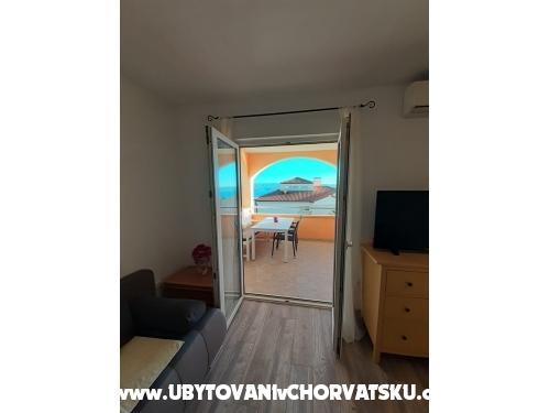 Apartmanok Mihaljević - Omiš Horvátország