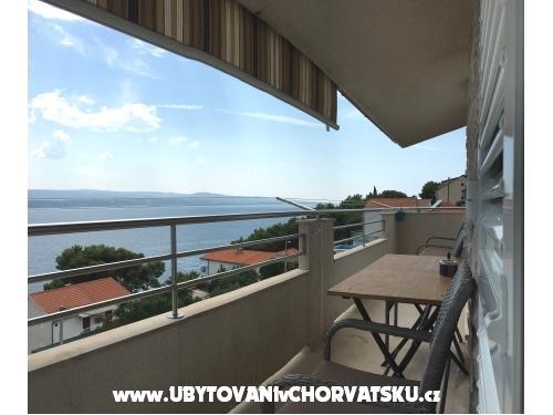 Apartmány Peter - Omiš Chorvatsko