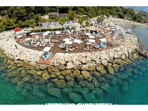 Apartmán Dodo s bazénem - Omiš Chorvatsko