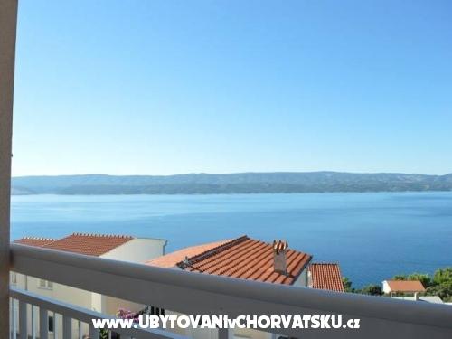 Apartmány Uglješić - Omiš Chorvátsko