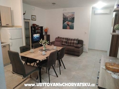 Apartmány Mušac - Omiš Chorvátsko