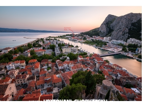 D&D seaview apartment for 9 - Omiš Chorvatsko