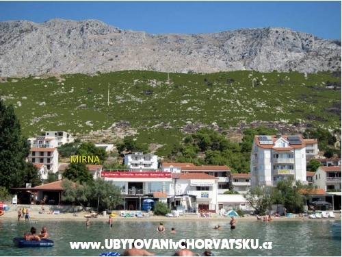 Apartmány Mirna - Omiš Chorvatsko