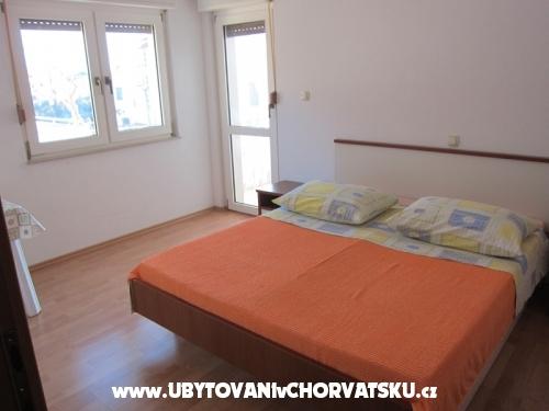 Apartmány Mirna - Omiš Chorvátsko