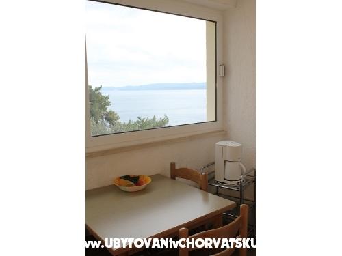 Novi apartmani Petar - Omiš Kroatien