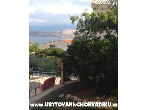 Apartmán Brankica - ostrov Pag Chorvatsko