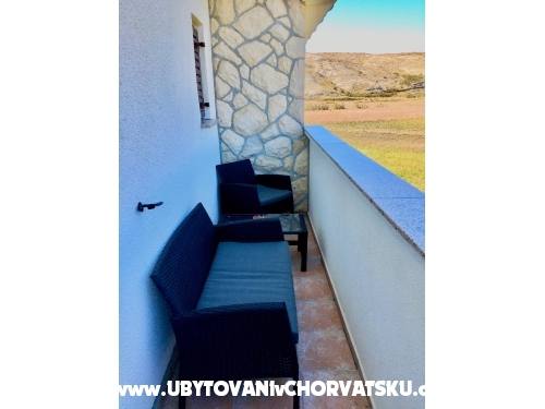 Appartements - Jandre - ostrov Pag Kroatien
