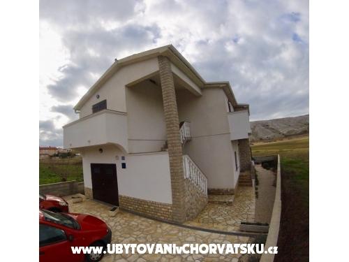 Apartmány Anica - ostrov Pag Chorvatsko