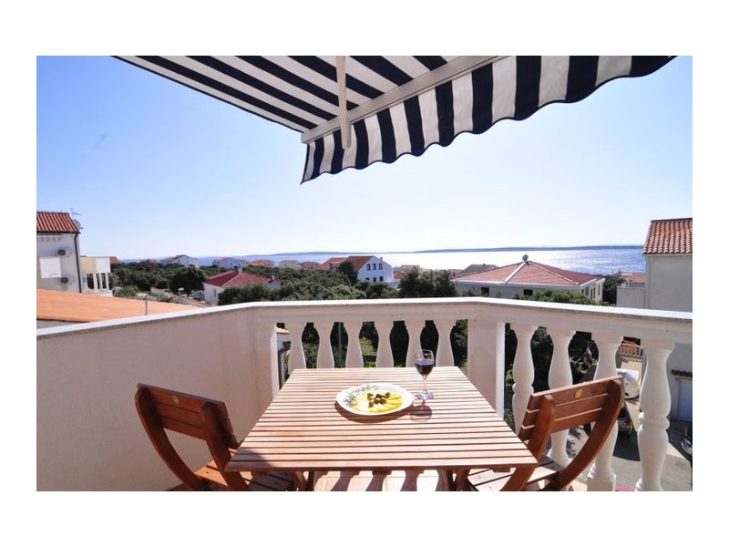 Appartements Ankora Mandre - ostrov Pag Croatie