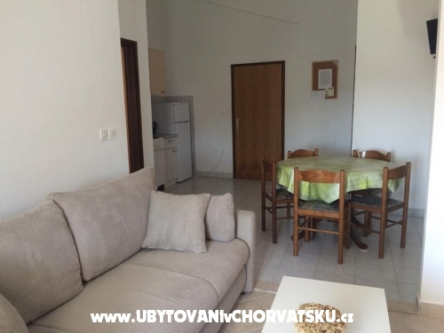 Apartmány Mare - ostrov Pag Chorvatsko