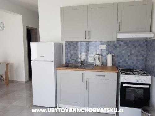 Apartmány Milena i Robert - ostrov Pag Chorvatsko