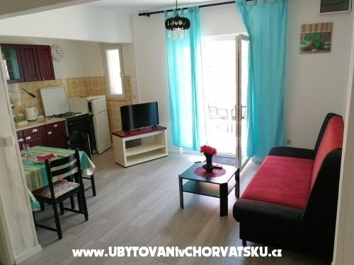 Apartmány Školjkica - ostrov Pag Chorvátsko