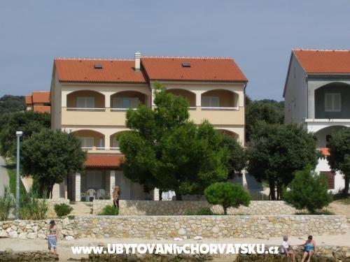 Apartmanok Šupraha Silvio - ostrov Pag Horvátország