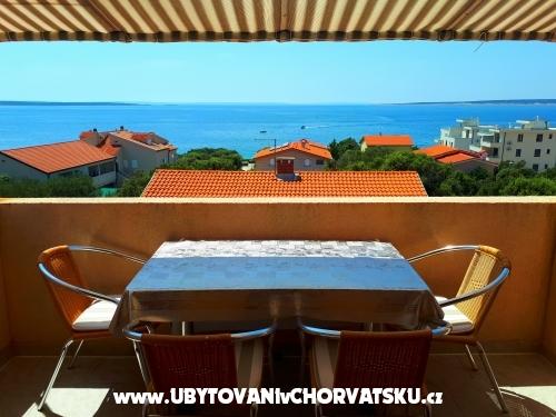 Apartmány Marošević - ostrov Pag Chorvatsko