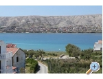 Appartements Fabijanic - ostrov Pag Kroatien