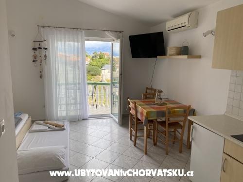 Apartmanok Batana - ostrov Pag Horvátország
