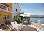 Apartmani na moru - ostrov Pag Hrvatska