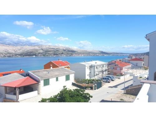 Apartmány Pag - ostrov Pag Chorvatsko