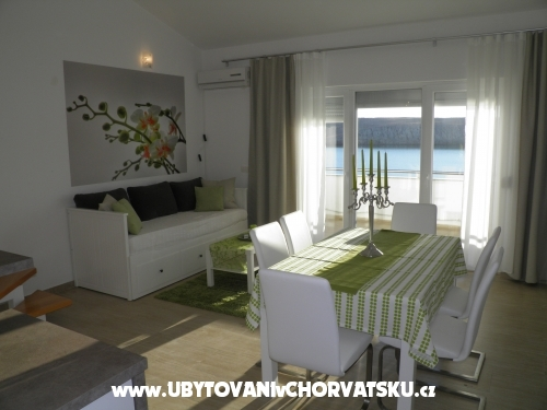 апартаменты Perla - ostrov Pag Хорватия