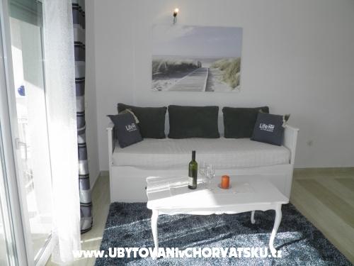 Apartmány Perla - ostrov Pag Chorvatsko
