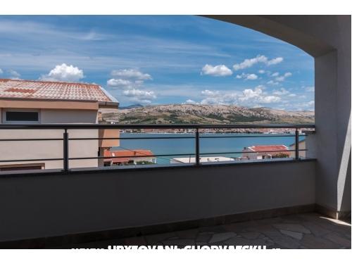 Apartamenty Plaža - ostrov Pag Chorwacja