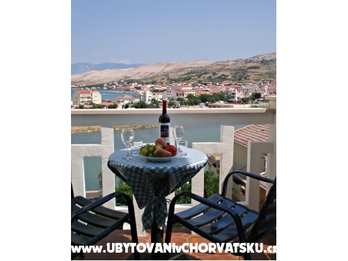 Ferienwohnungen Tatjana - ostrov Pag Kroatien