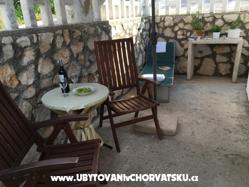 Apartmány Tatjana - ostrov Pag Chorvatsko