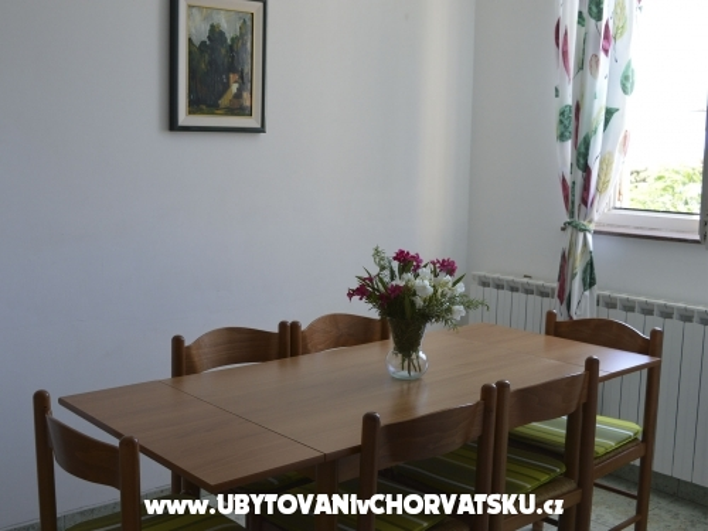 Apartmány Villa Ana - ostrov Pag Chorvatsko