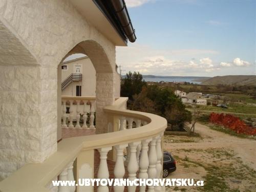 Apartmány Kovačić - Villa Mila - ostrov Pag Chorvatsko