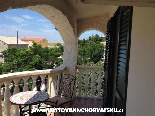 Apartmanok Kovačić - Villa Mila - ostrov Pag Horvátország