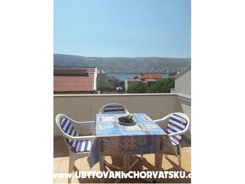 Appartmani Luce - ostrov Pag Hrvatska