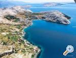 Pokoje Magdalena - ostrov Pag Chorvatsko