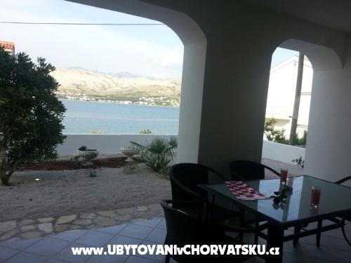 Vila Lunamar - ostrov Pag Chorwacja