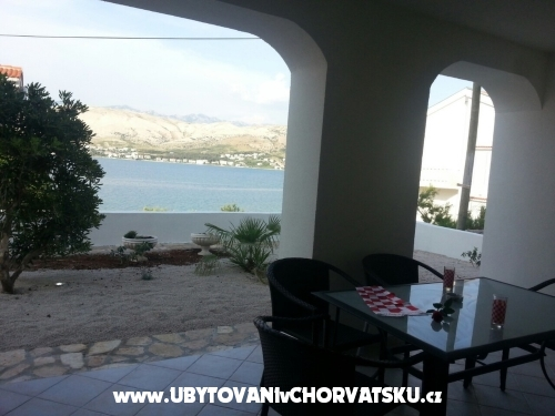 Vila Lunamar - ostrov Pag Chorvatsko