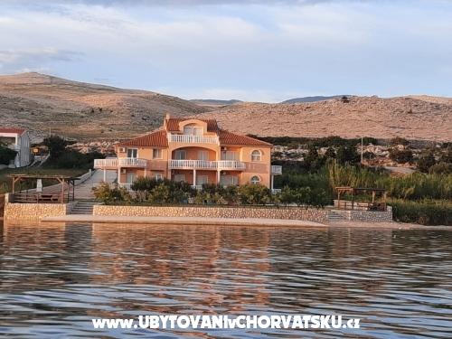 Villa Maestral - ostrov Pag Chorvatsko